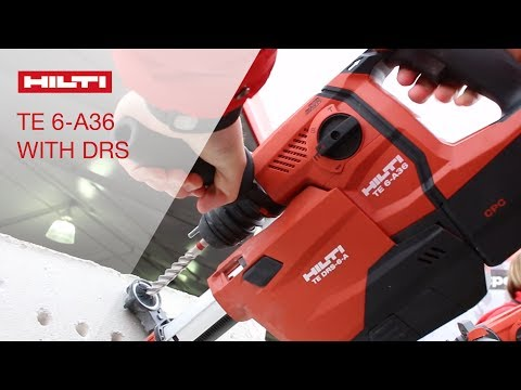 REVIEW of Hilti TE 6-A36 concrete drill with dust removal system