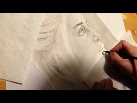 Daenerys Tagaryen Speeddrawing Time Lapse Zeitraffer Pencil Drawing Bleistift Zeichnen Art by Sauer