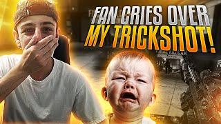 FAN CRIES OVER MY TRICKSHOT!! | FaZe Rug