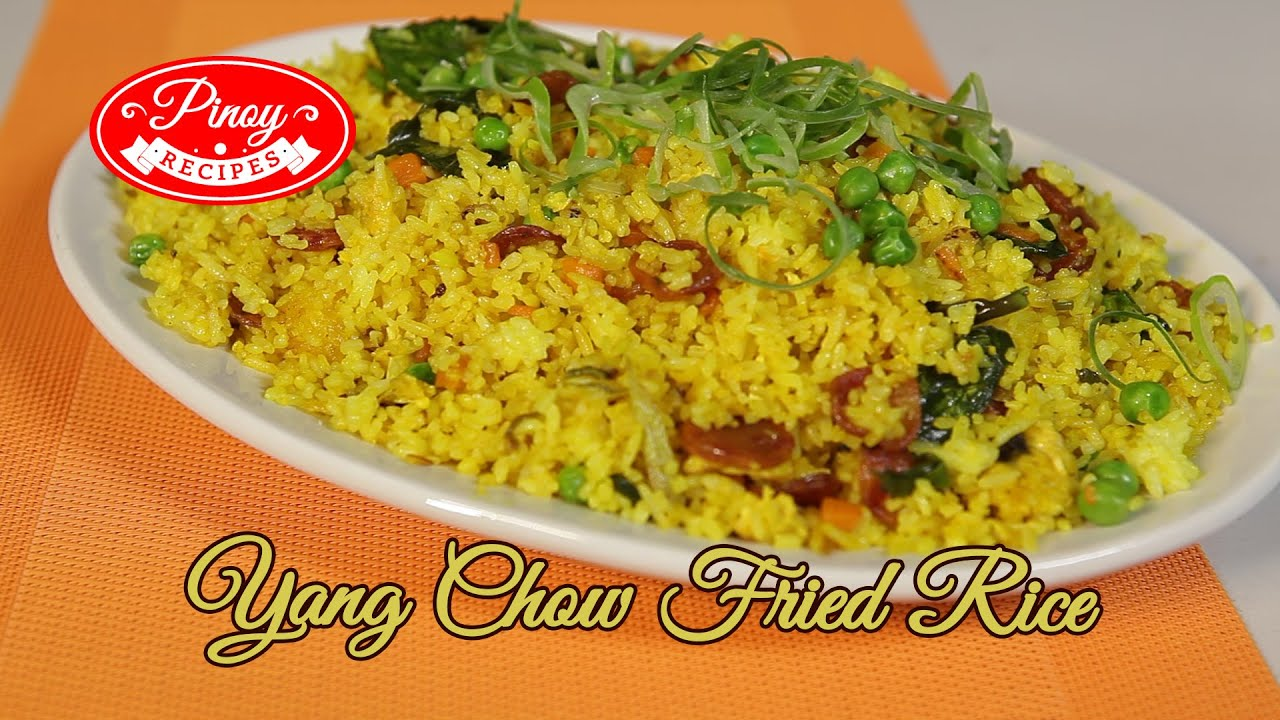 Chinese Fried Rice - Yang Chow Fried Rice | Pinoy Recipes ...