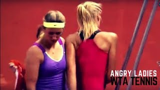 Tennis. Ladies Become Monsters - WTA moments