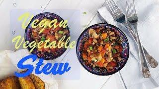 Овощное рагу с фасолью // Vegan Vegetable Stew