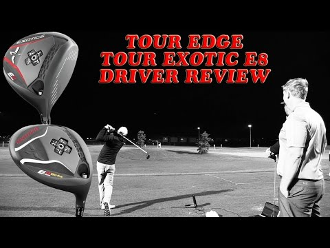 Tour Edge Exotic E8 Driver Golf Club Review @ Golf Central BNE