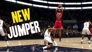 NBA LIVE 18 THE ONE STRETCH BIG | NEW JUMPSHOT ALERT! PERFECT RELEASES