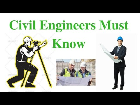 Civil Site Engineer Must Know