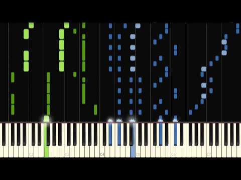 All Star but it's an impossible computer-generated piano version