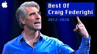 Craig Federighi Best Moments | 2012-2020