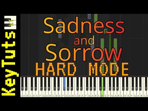 Learn to Play Sadness and Sorrow from Naruto - Hard Mode