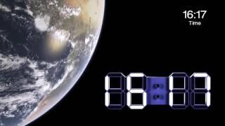 Led clock  LED 時鐘 掛鐘 電子鐘 靜音