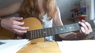 Gambar cover I'm dying inside-Choonie  Guitar 4 chords  Alice Moon