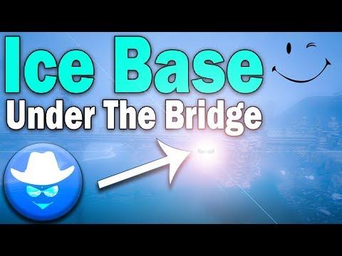 Ice Base Under The Bridge - Conan Exiles
