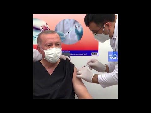 Covid-19 : Recep Tayyip Erdoğan vacciné devant les caméras - no comment