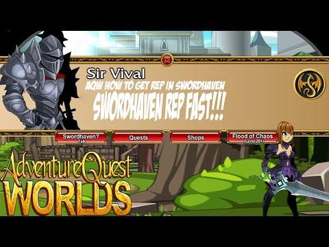 =AQW= How to get Swordhaven rep fast 2015