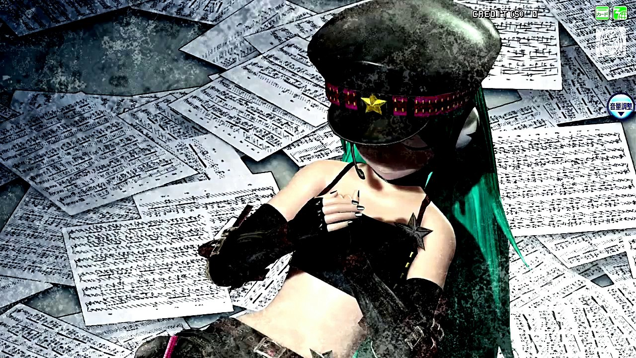 【Project DIVA Arcade FT】Hatsune Miku【Black ★ Rock Shooter ...