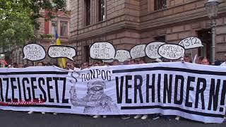 #noNPOG - Mehr als 800 Menschen demonstrieren in Braunschweig gegen das nds. Polizeigesetz!