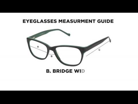 how to measure for sunglasses  How to Measure your eyeglasses while buying online - YouTube