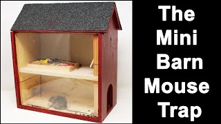 The Miniature Barn Mouse Trap & Some Very Smart Rats: Mousetrap Monday