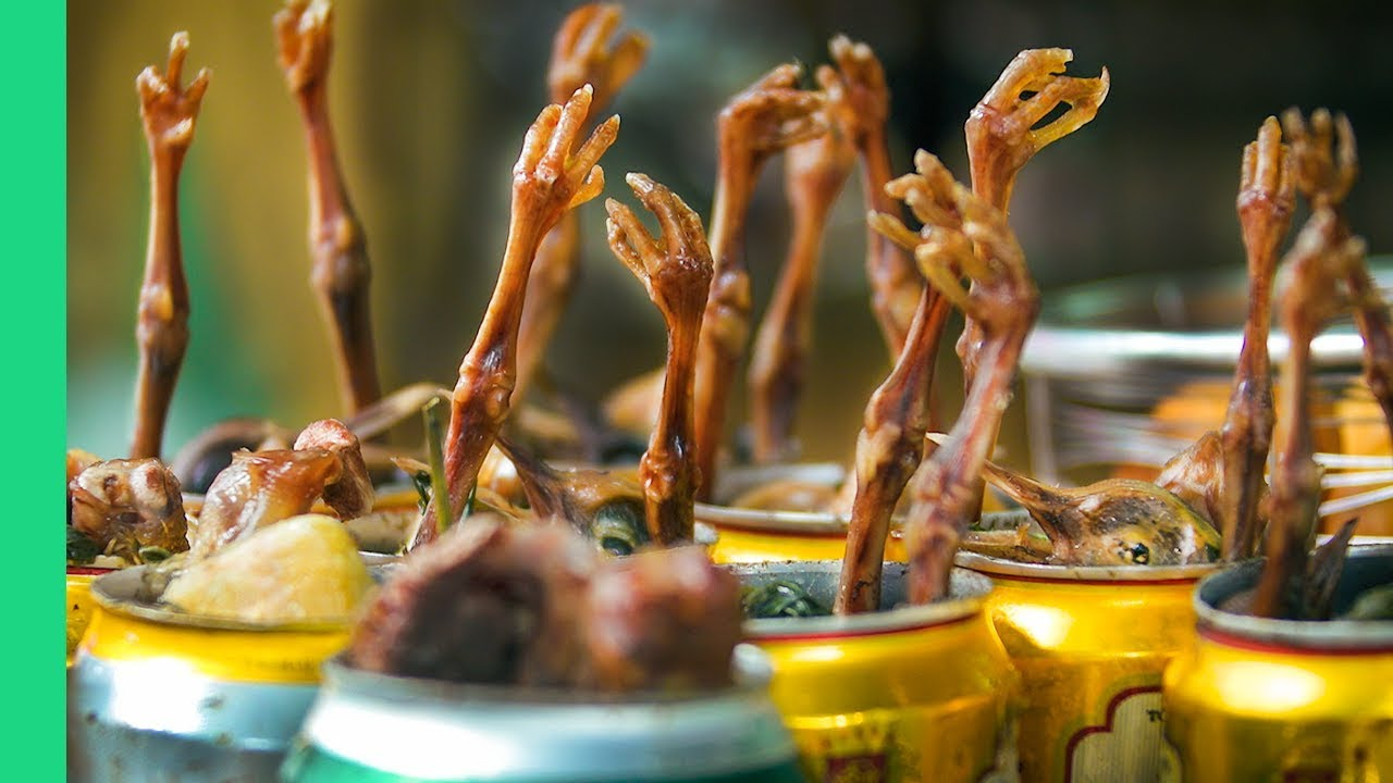 Beer Can Chicken! Most UNUSUAL STREET FOOD in Vietnam!