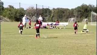 a wonderful u7 girls soccer game