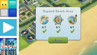 SimCity BuildIt - 2 Beach Expansions and 24 City Achievements | Blocks Plays BuildIt E19 | AYB62