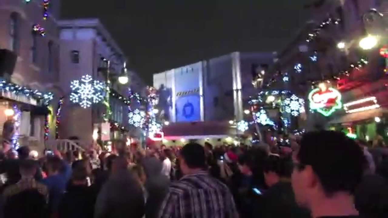 New Year's Eve At Universal Studios Orlando 12/31/14 - YouTube
