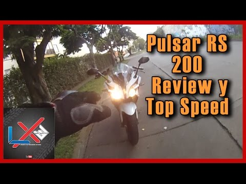 Pulsar RS 200 Review y Top Speed