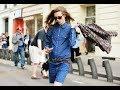 Denim Street Style From Around The Globe