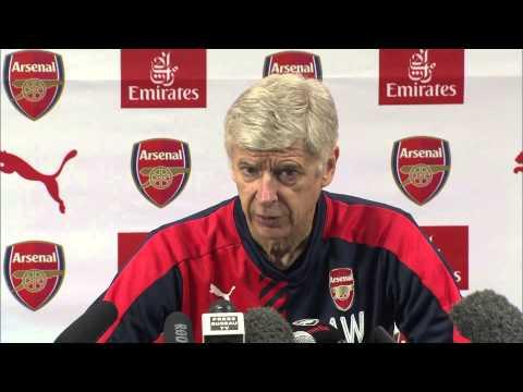Arsene Wenger previews Newcastle & gives fitness update on Per Mertesacker & Laurent Koscielny