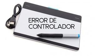 El controlador de la tableta no se esta ejecutando   Tableta wacom   Fixed   Problema de controlador