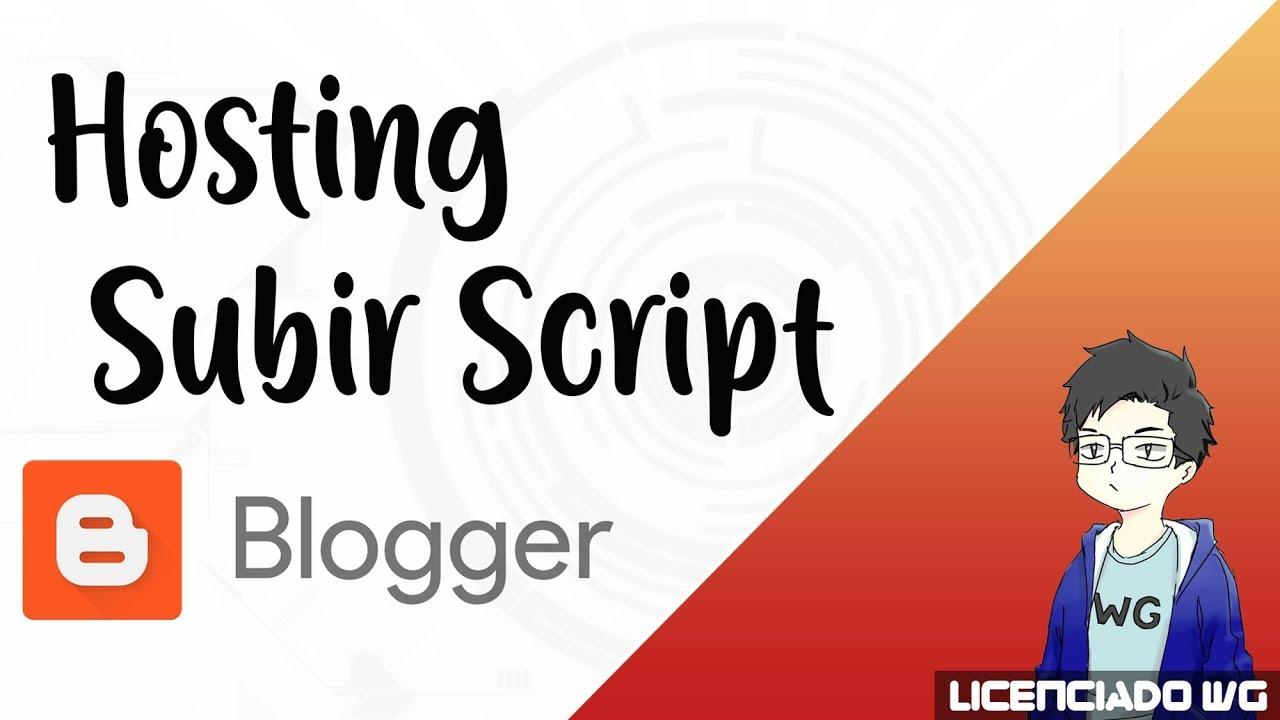 Subir Script a Hosting