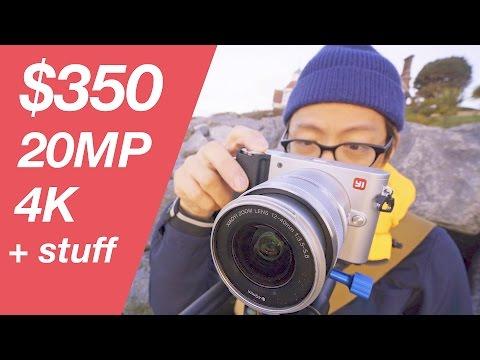 $350 20MP 4K Mirrorless Camera