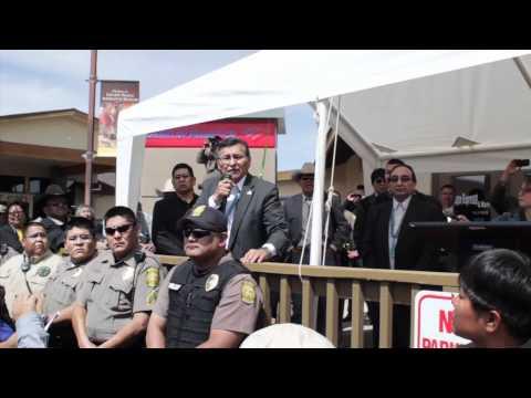 SB2109 Video- Tuba City, AZ- McCain & Kyl
