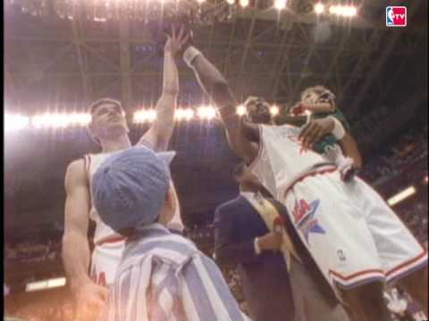 John Stockton and Karl Malone win the 1993 ASG MVP