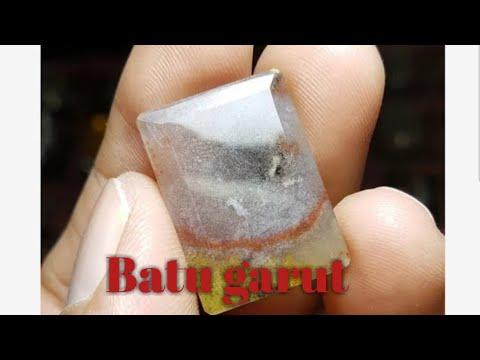 batu panca warna garut ctistal liontin - YouTube