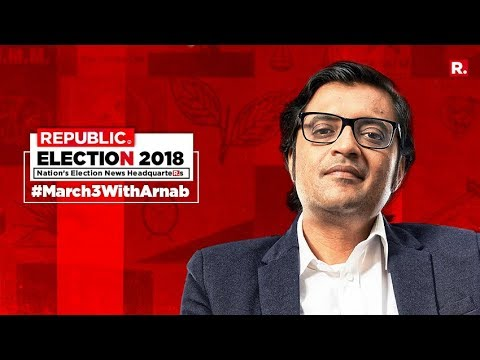 North East Elections 2018 - Live On Republic TV | #March3WithArnab