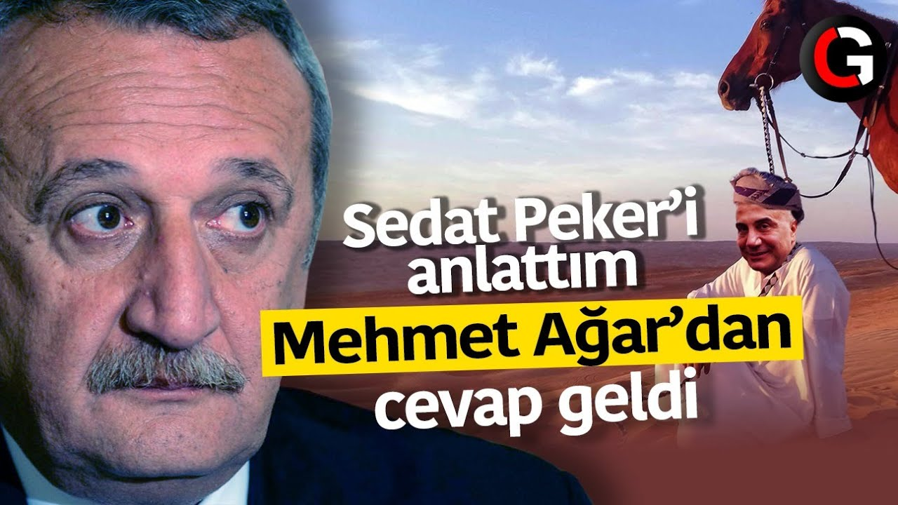 Sedat Peker'e dokundum Mehmet Ağar'dan cevap geldi