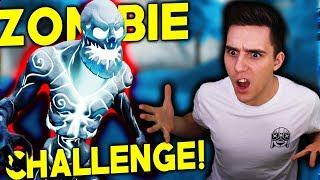 ICE ZOMBIE CHALLENGE!🧟 😱
