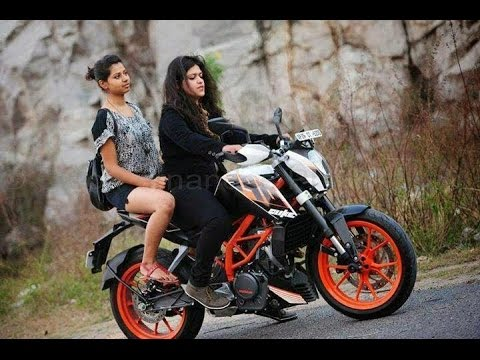 Indian girls riding bikes october 2016 youtube - Pictures of chicks on bikes ...