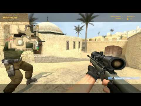 CSS - ESEA Competitive Gameplay (20-1 T-side with the AWP)