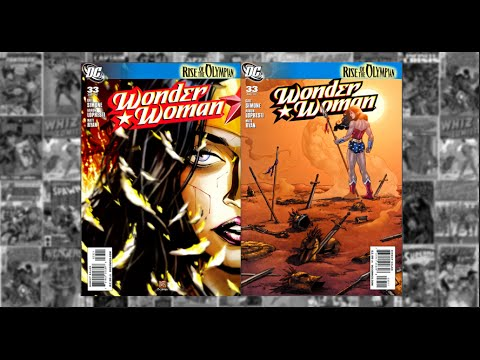 "Wonder Woman: vol2 #33, Rise of the Olympian Finale, ""Monarch of the Dead"", - Untimed"