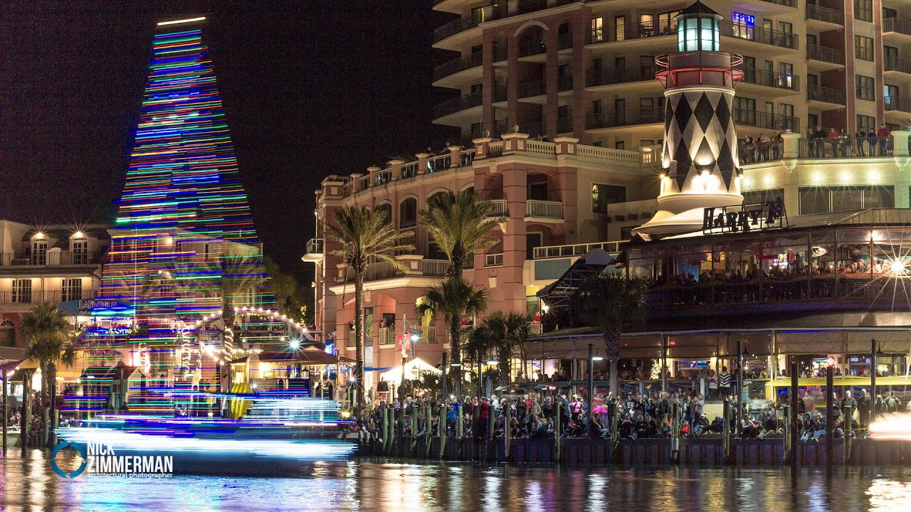 Destin Boat Parade   2014 - YouTube