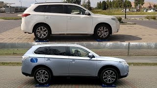 Mitsubishi Outlander Phev S-Awc - 2015 Vs 2014 - 4x4 Test On Rollers