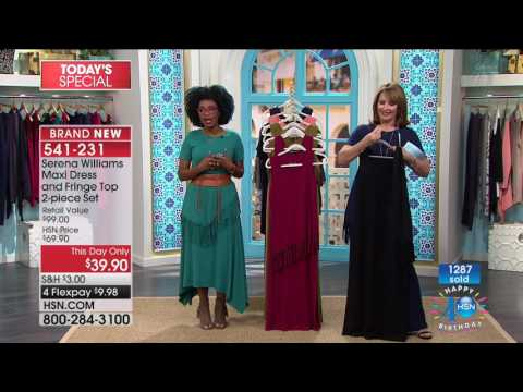 HSN | SERENA WILLIAMS Signature Statement Fashions Celebration 07.21.2017 - 10 PM
