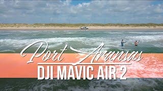 Port Aransas, Texas Drone Footage 2020 (DJI Mavic Air 2)