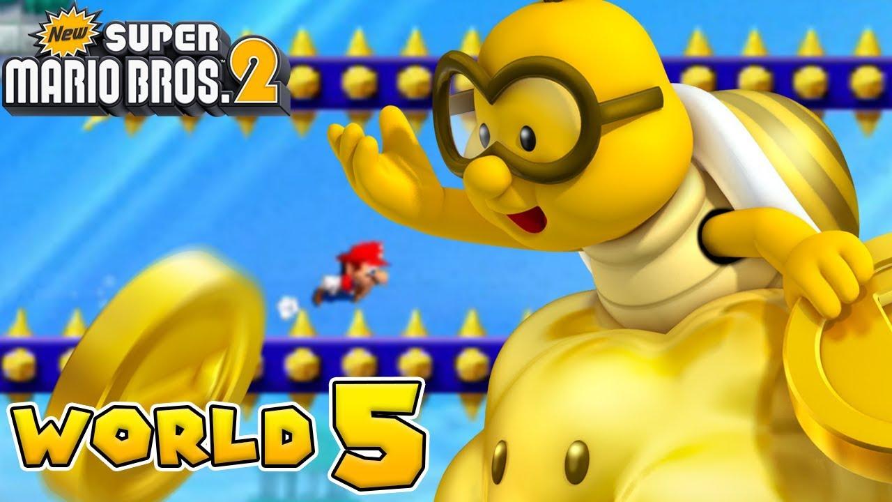 World 5 5 New Super Mario Bros 2 Super Mario Wiki The Mario