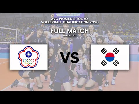 TPE Vs. KOR - Semi Finals | AVC Women's Tokyo Volleyball Qualification 2020