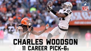 Charles Woodson's 11 Career Pick-6s | #CountdownToKickoff | NFL