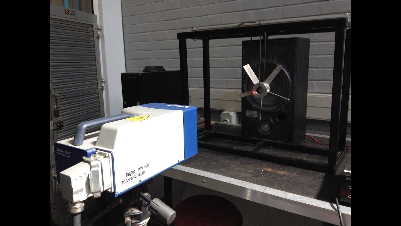 C-AIM training videos: Polytec PSV400 scanning laser Doppler vibrometer