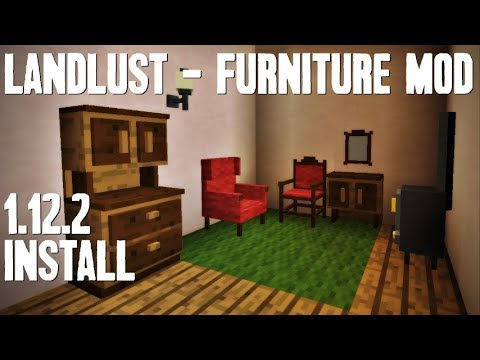 Landlust furniture mod minecraft how to download for Furniture mod 1 12 2