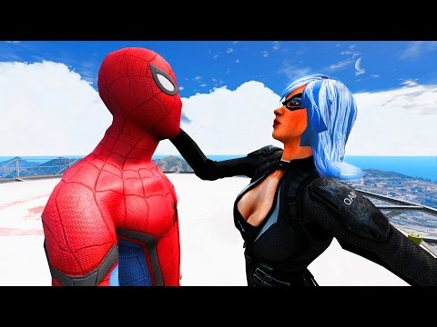 Spider-Man vs BLACK CAT - Epic Superheroes Battle